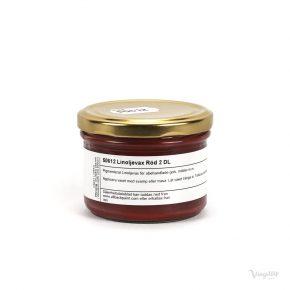Linoljevax Röd 2 dl, Allbäck Linoljeprodukter.