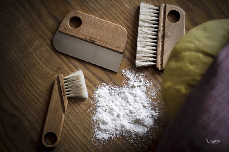 Baka lussekatter med bakset från Iris Hantverk.