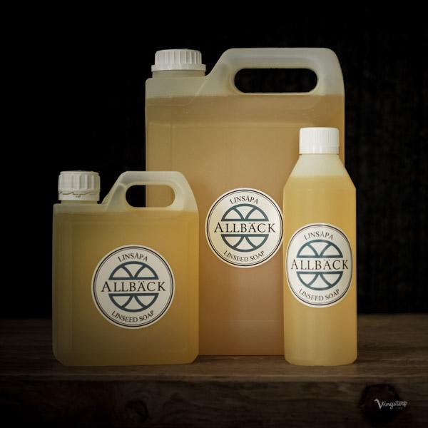 Linsåpa - en ren naturprodukt utan kemikalier och onödiga tillsatser.