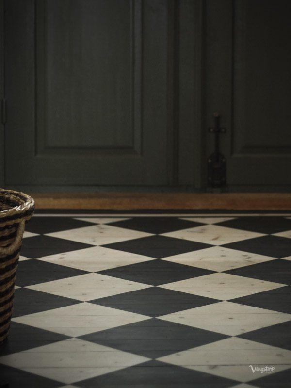 Rutigt golv med Allbäck linoljevax - Traditionell och kemikaliefri golvbehandling