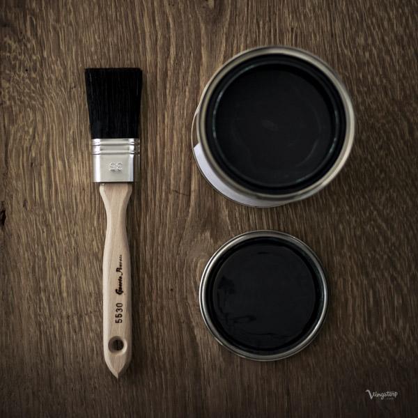GnestaPenseln och linoljefärg från Wibo Färg
