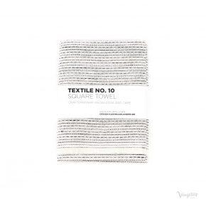 Textile No. 10, Square Towel / Kvadratisk Handduk, Sashiko Vit, Karin Carlander