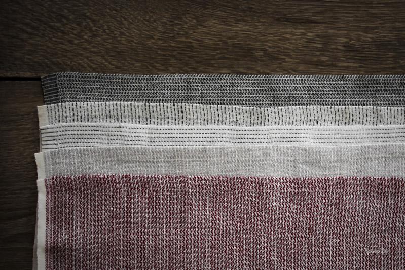 Textile No. Sashiko Röd, fin bakduk till julbaket.