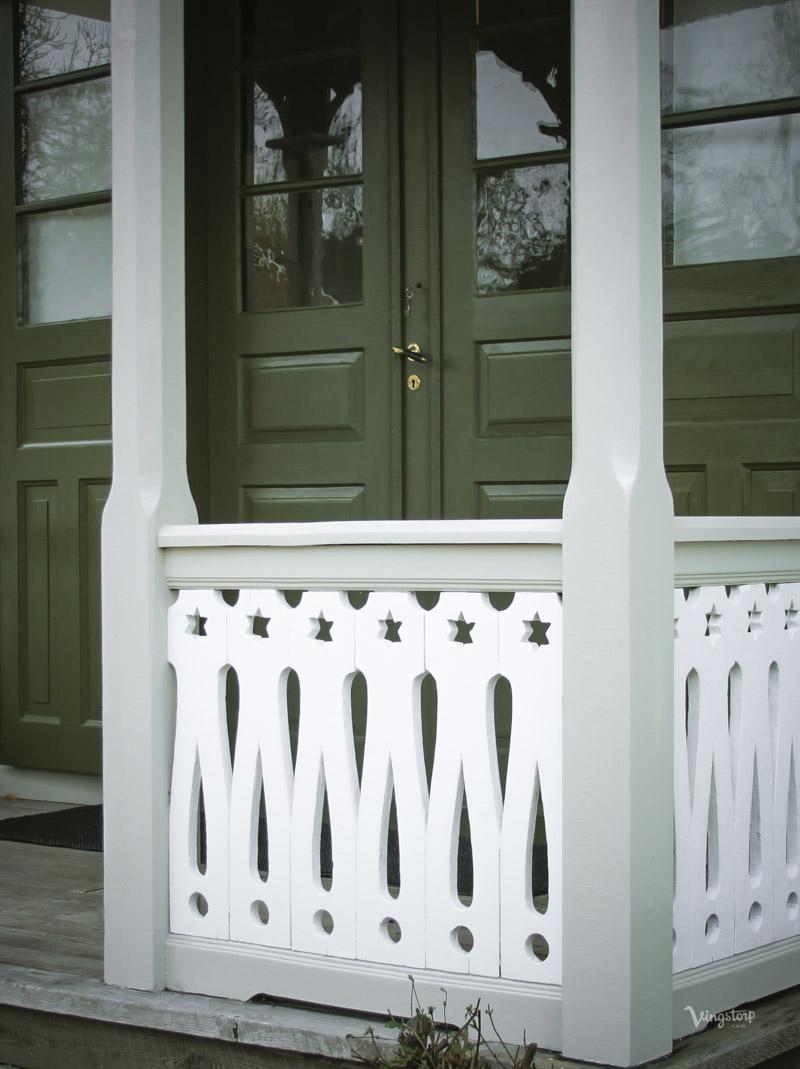 Måla om veranda med Linoljefärg från Wibo Färg.