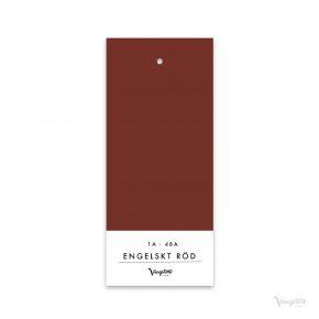 Engelskt röd, Linoljefärg, Wibo Färg