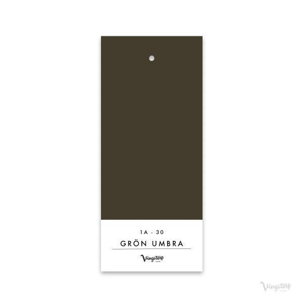 Grön Umbra, Linoljefärg, Wibo Färg